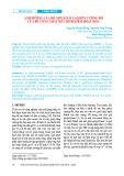 Ảnh hưởng của độ mịn xỉ lò cao đến cường độ của bê tông chất kết dính kiềm hoạt hóa