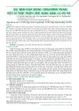 Xác định hàm lượng crinamidin trong một số thực phẩm chức năng bằng GC-MS/MS