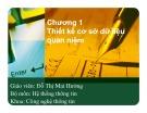 Bài giảng Hệ thống thông tin: Chương 1 - Đỗ Thị Mai Hường
