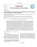 Factors relating to preventive practices of health science students during the early stage of the COVID-19 pandemic