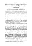 Phân tách nguyên âm: Một quy luật biến đổi ngữ âm phổ biến trong tiếng Việt