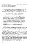 Nâng cao năng lực công tác xã hội cho đội ngũ cán bộ bảo vệ trẻ em về phòng ngừa và trợ giúp trẻ bị xâm hại tình dục (nghiên cứu tại tỉnh Bắc Kạn, Việt Nam)