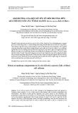 Ảnh hưởng của một số yếu tố môi trường đến quá trình nuôi cấy tế bào xạ đen (Ehretia asperula Zoll. et Mor.)