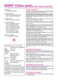Tạp chí Khoa học kỹ thuật Chăn nuôi: Số 255/2020