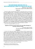 Phát hiện Porcine circovirus type 3 và một số mầm bệnh khác trong các ca bệnh hô hấp phức hợp
