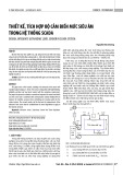 Thiết kế, tích hợp bộ cảm biến mức siêu âm trong hệ thống Scada