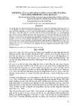 Ảnh hưởng của các mức bổ sung kẽm và selen đến số lượng, chất lượng tinh bò đực giống Brahman