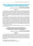 Phân lập và kiểm tra một số đặc điểm của Vibrio parahaemolyticus liên quan đến bệnh hoại tử gan tụy cấp trên tôm ở Trà Vinh