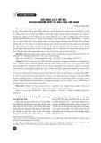 Mô hình luật hỗ trợ doanh nghiệp nhỏ và vừa của Việt Nam