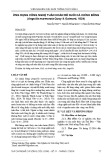 Ứng dụng công nghệ tuần hoàn để nuôi cá chình bông (Anguilla marmorata Quoy & Gaimard, 1824)