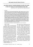 Khả năng phân hủy Quorum sensing của một số chủng vi sinh vật phân lập từ môi trường ao nuôi tôm