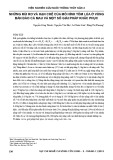 Những rủi ro và hạn chế của mô hình tôm lúa ở vùng bán đảo Cà Mau và một số giải pháp khắc phục