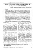 Nghiên cứu sản xuất thức ăn hỗn hợp tạo cua lột (Scylla paramamosain) thương phẩm
