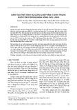 Đánh giá tình hình sử dụng chế phẩm vi sinh trong nuôi tôm ở đồng bằng sông Cửu Long