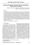 Đánh giá nguồn vật liệu ban đầu cho chọn giống tôm sú Penaeus monodon