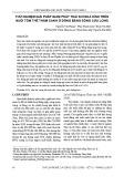 Thử nghiệm giải pháp giảm phát thải khí nhà kính trên nuôi tôm thẻ thâm canh ở đồng bằng sông Cửu Long