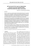 Kết quả bước đầu nuôi cá chình bông (Anguilla marmorata) thương phẩm trong nhà bằng hệ thống tuần hoàn