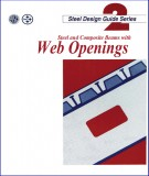 Steel  with web openings and Steel design guide series 2