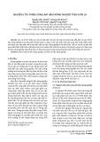 Nghiên cứu phân vùng khí hậu nông nghiệp tỉnh Sơn La