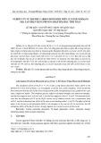 Nghiên cứu sự hấp phụ carbon monoxide trên cluster germani pha tạp niken bằng phương pháp hóa học tính toán