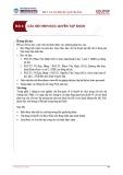 Bài giảng Kinh tế học vi mô 2 - Bài 6: Các mô hình độc quyền tập đoàn