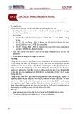 Bài giảng Kinh tế học vi mô 2 - Bài 2: Lựa chọn trong điều kiện rủi ro