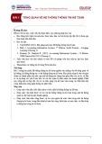Bài giảng Hệ thống thông tin kế toán - Bài 1: Tổng quan về hệ thống thông tin kế toán
