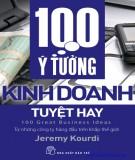 Cẩm nang kinh doanh - 100 ý tưởng kinh doanh tuyệt hay: Phần 1
