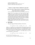 Toeplitz - Hankel integro - Differential equation