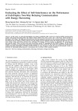 Evaluating the effect of self-interference on the performance of full-duplex two-way relaying communication with energy harvesting