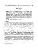 The use of portfolios on EFL young learners' sentence writing: A case at an English language centre in the Mekong Delta