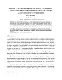 Suitable use of Vietnamese vocatives and request structures: Effective communication strategies among student youth leaders