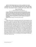 """Một số thủ pháp dịch gắn với loại hình văn bản và khảo sát các thủ pháp dịch trong bản dịch truyện cổ tích """"nàng bạch tuyết"""" từ tiếng Đức sang tiếng Việt"""