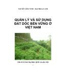 Quản lý vấn đề sử dụng đất dốc tại Việt Nam