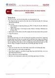 Bài giảng Quản trị Ngân hàng thương mại - Bài 1: Tổng quan về ngân hàng và hoạt động ngân hàng