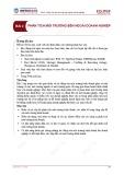 Bài giảng Quản trị chiến lược - Bài 2: Phân tích môi trường bên ngoài doanh nghiệp