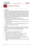 Bài giảng Lý thuyết thống kê - Bài 6: Phân tích dãy số thời gian