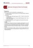 Bài giảng Quản trị Ngân hàng thương mại - Bài 4: Chính sách tín dụng và phân tích tín dụng