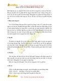 Bài văn mẫu: Phân tích tác phẩm Bình ngô đại cáo