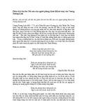 Bài văn mẫu: Phân tích bài thơ Nỗi oán của người phòng khuê (Khuê oán) của Vương Xương Linh