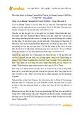 Văn mẫu lớp 10: Hóa thân thành An Dương Vương kể lại truyện An Dương Vương và Mị Châu – Trọng Thủy