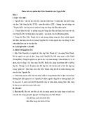Bài văn mẫu: Phân tích tác phẩm Độc Tiểu Thanh Kí của Nguyễn Du