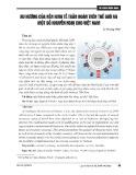 Xu hướng của nền kinh tế tuần hoàn trên thế giới và một số khuyến nghị cho Việt Nam