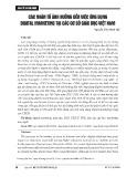 Các nhân tố ảnh hưởng đến việc ứng dụng digital marketing tại các cơ sở giáo dục Việt Nam