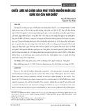 Chiến lược và chính sách phát triển nguồn nhân lực quốc gia của Hàn Quốc