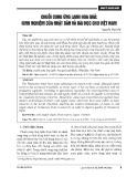 Chuỗi cung ứng lạnh hoa quả: Kinh nghiệm của Nhật Bản và bài học cho Việt Nam