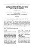 Nghiên cứu xác định dư lượng thuốc trừ sâu cơ clo trong một số mẫu rau và đất lấy tại khu vực lân cận kho thuốc trừ sâu cũ ở Hưng Yên