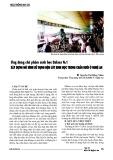 Ứng dụng chế phẩm sinh học Balasa No 1 xây dựng mô hình sử dụng đệm lót sinh học trong chăn nuôi ở Nghệ An