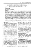 Nghiên cứu giải pháp bảo vệ đất trồng rau bằng bón phân hữu cơ tại xã Thủy Xuân Tiên, huyện Chương Mỹ, thành phố Hà Nội