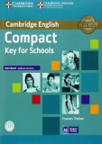 Workbook without answers of compact key for schools